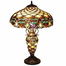 "Ariel 23"" H Table Lamp with Bowl Shade"