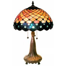 """Grace 25"""" H Table Lamp with Bowl Shade"""