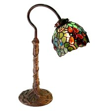 """Grape 19"""" H Table Lamp with Bowl Shade"""