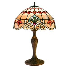 """Classic Tiffany Style 24"""" H Table Lamp with Bowl Shade"""