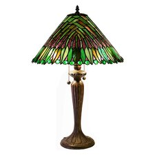 Leaves Cone Table Lamp