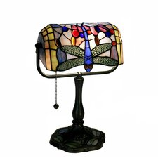 "Dragonfly Banker 12"" H Table Lamp"