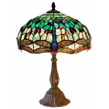 "17"" H Dragonfly Table Lamp"