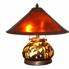 Mica Dragonfly Table Lamp with Empire Shade