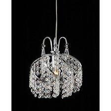 1 Light Crystal Chandelier