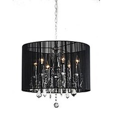 Sharona 6 Light Crystal Chandelier