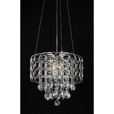 Antoinette 4 Light Crystal Chandelier