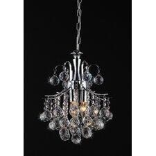 Arden Victorian 3 Light Crystal Chandelier