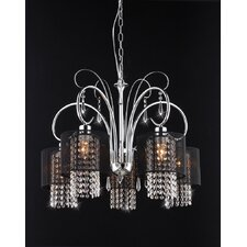 Celeste 5 Light Crystal Chandelier
