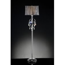 1 Light Crystal Floor Lamp