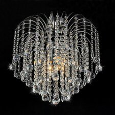 Candace 4 Light Crystal Flush Mount
