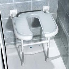 U-Shaped Padded Shower Chair
