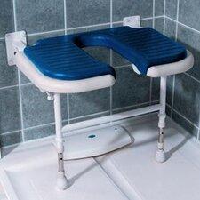 Wide U-Shaped Padded Shower Chair