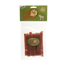 "10"" Lamb Strips Dog Treat"