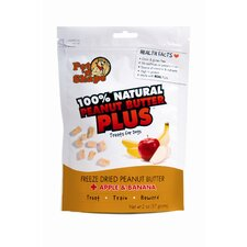 Freeze Dried Peanut Butter Plus Dog Treat