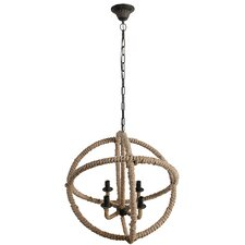 Ishmael 4 Light Candle Chandelier