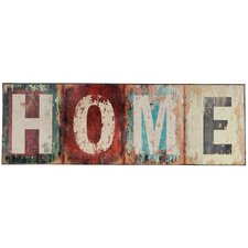 Home Textual Art on Wood Plaque (Set of 2)