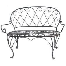 Iron Entryway Bench