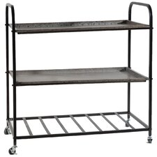 <strong>A&B Home Group, Inc</strong> 3 Tray Shelf (Set of 2) (Set of 2)