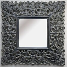 <strong>Imagination Mirrors</strong> The Otter Square Framed Mirror in Dark Mink