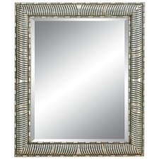<strong>Imagination Mirrors</strong> Modern Magic Wall Mirror in Sterling Silver