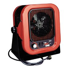 Garage 5,000 Watt Fan Forced Compact Space Heater