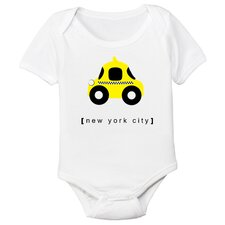<strong>Spunky Stork</strong> New York City Taxi Organic One Piece
