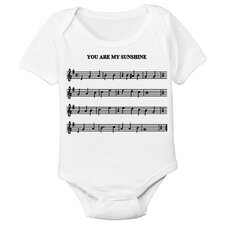 Sheet Music Organic Short Sleeve in White