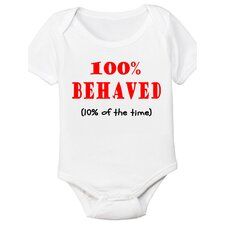 Behaved Organic Bodysuit