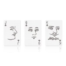 Mollaspace Poker Face Deck of Cards