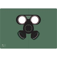 Gas Mask Peeping Notebook