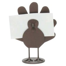 Thanksgiving Turkey Placecard Holder (Set of 4)