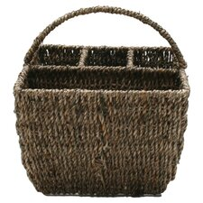 Baskets Seagrass Four-Part Caddy
