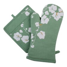 Corelle Callaway Oven Mitt and Potholder