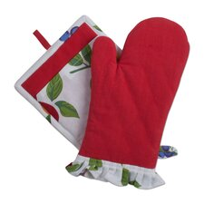 Corelle Chutney Oven Mitt and Potholder
