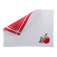 Corelle Reversible Chutney Embroidered Placemat (Set of 4)