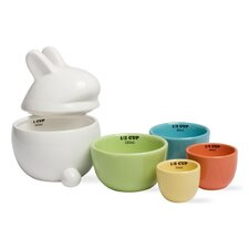 Easter Bunny Measuring Cups (Set of 5)