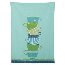 Textiles Teacups Topiary Dishtowel