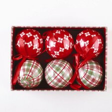 Chalet Ornament (Set of 6)