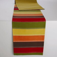 Fall Pleated Table Runner