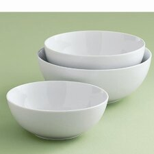 Whiteware Serving Bowl (Set of 3)