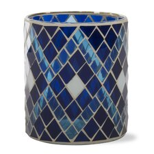 <strong>TAG</strong> Indigo Glass Votive Holder
