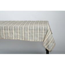 Linen Chenille Stripe Table Cloth