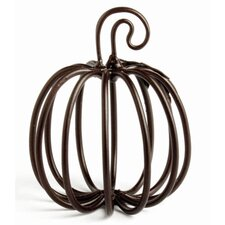 Halloween Wire Pumpkin Card Holder (Set of 4)