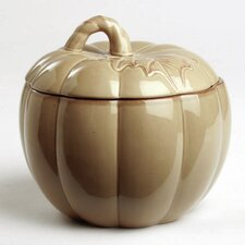 "Thanksgiving Pumpkin Lidded 7.5"" Serving Bowl"
