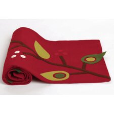 Birds and Berries Felt Table Runner