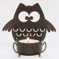 Owl Metal Tealight