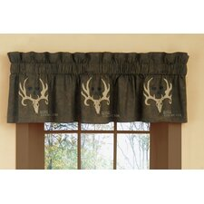"Rod Pocket Tailored 88"" Curtain Valance"