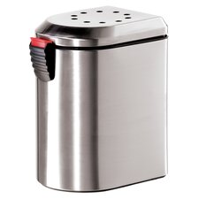 Stainless Steel Deluxe Countertop Compost Pail