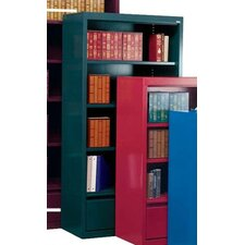 "72"" Bookcase with File Drawer"